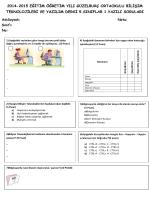 2014-2015 eğitim öğretim yılı güzelburç ortaokulu bilişim