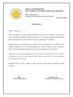 Editörden - Dicle Üniversitesi Ziya Gökalp Eğitim Fakültesi Dergisi