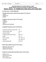 modül sınavı-03 resimlerle web araçları hazırlama 11b – cevaplar