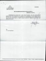 T.c. KONYA 10/10/2014 1. İCRA DAİRESİ 2014/1410 TLMT.