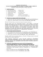 öğrenci konseyi seçim takvimi