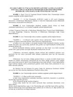 25/11/2010 tarih ve 27766 sayılı resmi gazetede yayımlanan deniz