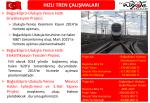 Hızlı Tren Çalışmaları