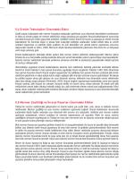 5.4 Üretim Teknolojileri Üzerindeki Etkisi 5.5