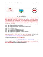 Mal Alımı İçin İhale İlanı Geo Sondaj Makine İmalat Limited Şirketi