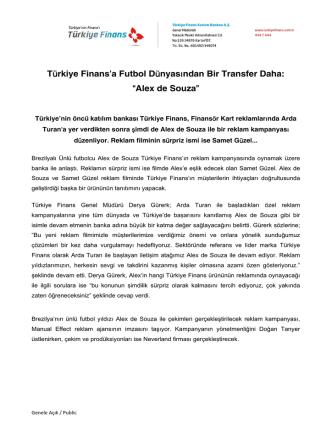 Alex de Souza - Türkiye Finans Katılım Bankası