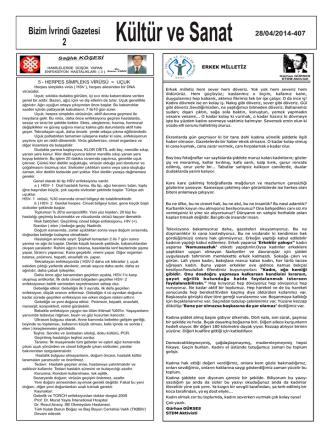 Bizim İvrindi Gazetesi 2 28/04/2014