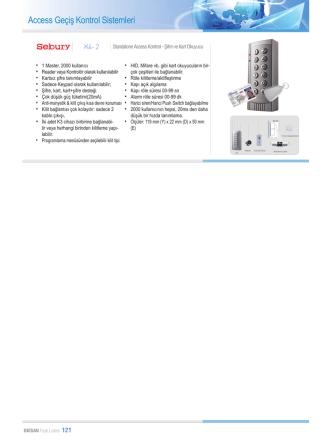Access Geçiş Kontrol Sistemleri