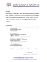 Şirketimiz, Gökalp denizcilik ve işletmecilik ltd