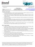 Haftalık Ekonomi Değerlendirme Raporu – 14.10.2014