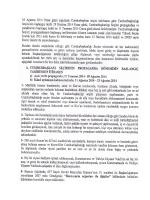 10 Ağustos 2014 Pazar günü yapılacak Cumhurbaşkanı seçim