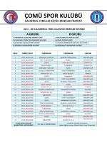 ÇOMÜ SPOR KULÜBÜ - Beden Eğitimi ve Spor Yüksekokulu