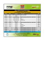 2014 türkiye pist şampiyonası