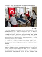 """TÜRK KIZILAYI """"TÜRKÖK KÖK HÜCRESİ PROJESİ"""" KAPSAMINDA"""