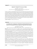PH–077 Alglerde Ubiquitin-Proteazom Yolağı PH–078 A