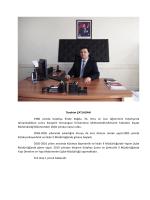 İbrahim ÇATLADAN - Çevre ve Şehircilik Bakanlığı