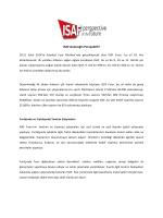 ISAF Geleceğin Perspektifi! - Marmara Tanıtım Fuarcılık