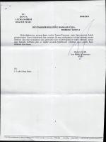 ı. İCRA DAİRESİ - Konya Büyükşehir Belediyesi