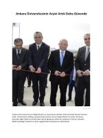 Ankara Üniversitesinin Arşivi Artık Daha Güvende