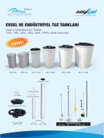 tuz tankı - Esli Endüstriyel Ürünler