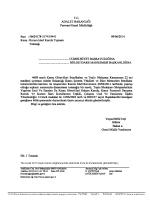 ADALET BAKANLIĞI - Adalet Bakanlığı