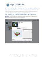 iPad ve iPhone SSL VPN Uzaktan Erişimi için Program Kurulumu
