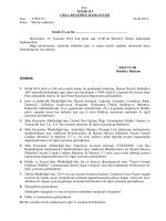 01 Temmuz 2014 Meclis Gündemi