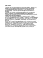 Gizlilik Politikası 1- Atesiniolc.com, kullanıcıların internet sitesi