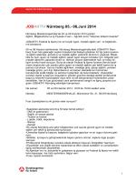 JOBAKTIV Nürnberg 05.- 06.Juni 2014