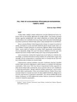 tck, tmk ve uluslararası sözleşmeler kapsamında terbiye hakkı