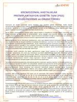 onam formu - Preimplantasyon Genetik Tanı (PGT)