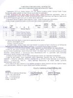 EK 1 - Ankara Ticaret Borsası