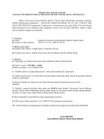 Kafkas Üniversitesi Sosyal Bilimler Meslek Yüksek Okulu Müdürlüğü