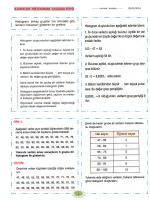 8.sınıflar histogram çalışma föyü