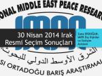 30 Nisan 2014 Irak Seçimleri Resmi Sonuçları [PDF]