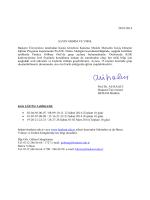 Başkent Üniversitesi-KGK-Bağımsız Denetçilik