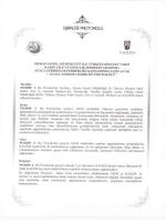 Orman Genel Müdürlüğü ile Türkiye Diyanet Vakfı KAGEM Arasında
