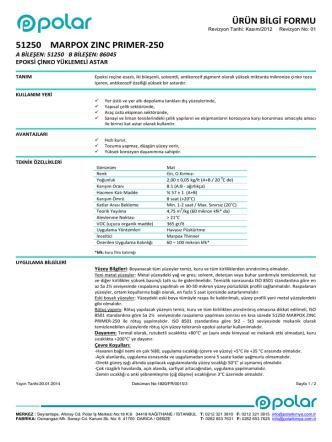 51250-MARPOX ZINC PRIMER-250-TR