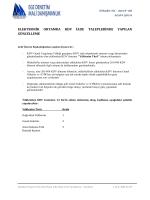 elektronik ortamda kdv iade taleplerinde yapılan güncelleme