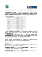YURTİÇİ KARGO DUYURUSU web - Yıldız Teknik Üniversitesi