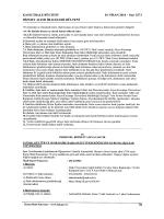 KAMU İHALE BÜLTENİ 01 NİSAN 2014 - sayı