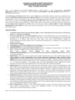 çanakkale onsekiz mart üniversitesi beden eğitimi ve spor