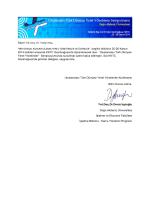 Taylan Koc - Uluslararası Türk Dünyası Yerel Yönetimler Konferansı