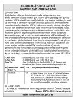 t.c.kocaeli 7.icra dairesi