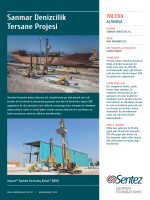 Sanmar Denizcilik Tersane Projesi