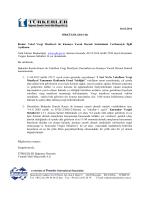 10.10.2014 Vakıf Vergi Muafiyeti ile Kamuya Yaralı