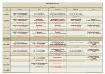 2014-2015 Güz Dönemi III. Sınıf Ders Programı