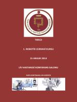 tkrcd 1. robotik cerrahi kursu 15 aralık 2014 liv hastanesi konferans