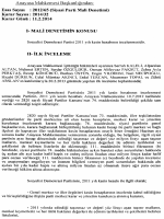 2012/65 (Siyasi Parti Mali Denetimi), K: 2014