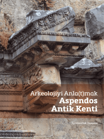 Aspendos Antik Kenti - Ankara İngiliz Arkeoloji Enstitüsü Kültürel